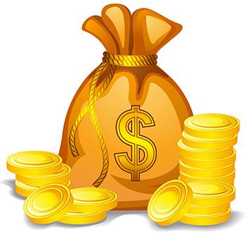 мешок с деньгами. деньги и энергия
