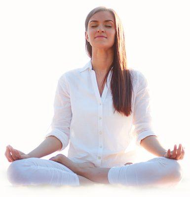 Женщина в медитации