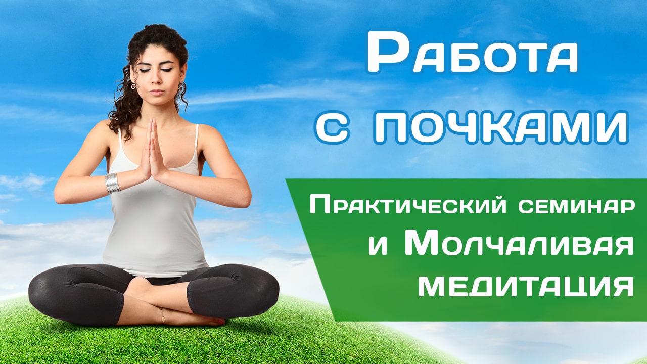 Семинар + Молчаливая медитация «Работа с почками»